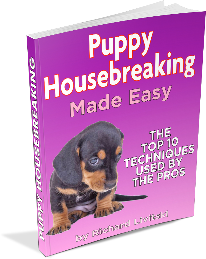 puppy housebreaking e-book cover